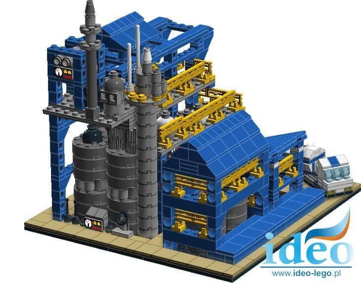 LEGO construction models factory Melamina Azoty Pulawy made