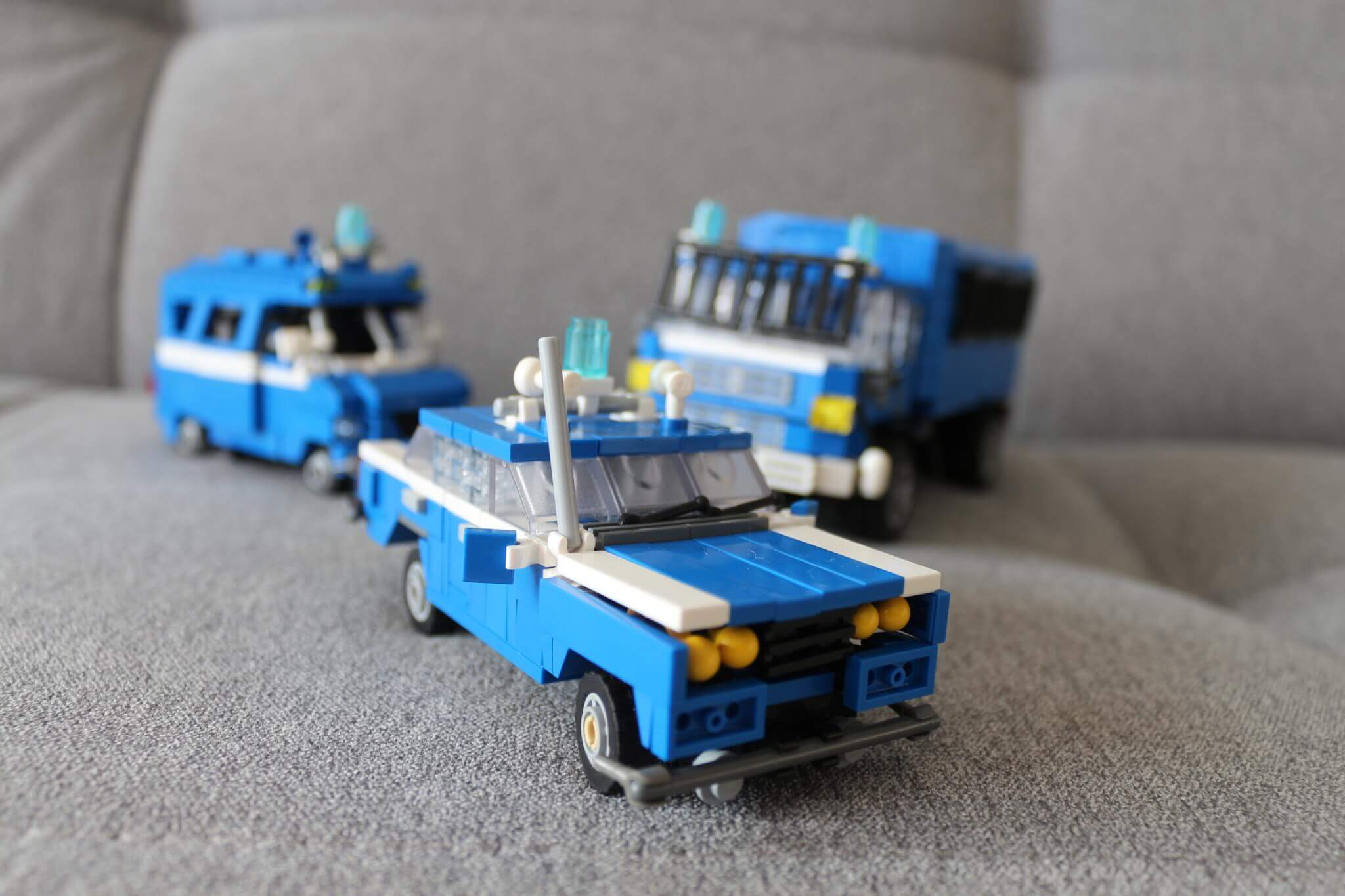 Lego Car Models Police Militia When Solidarnosc Fight With Communism