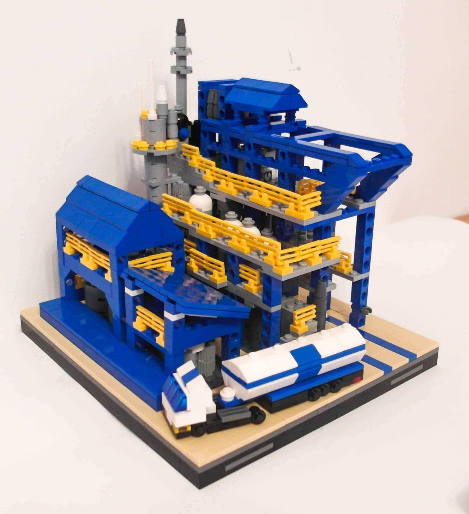 LEGO construction models factory Melamina Azoty Pulawy made