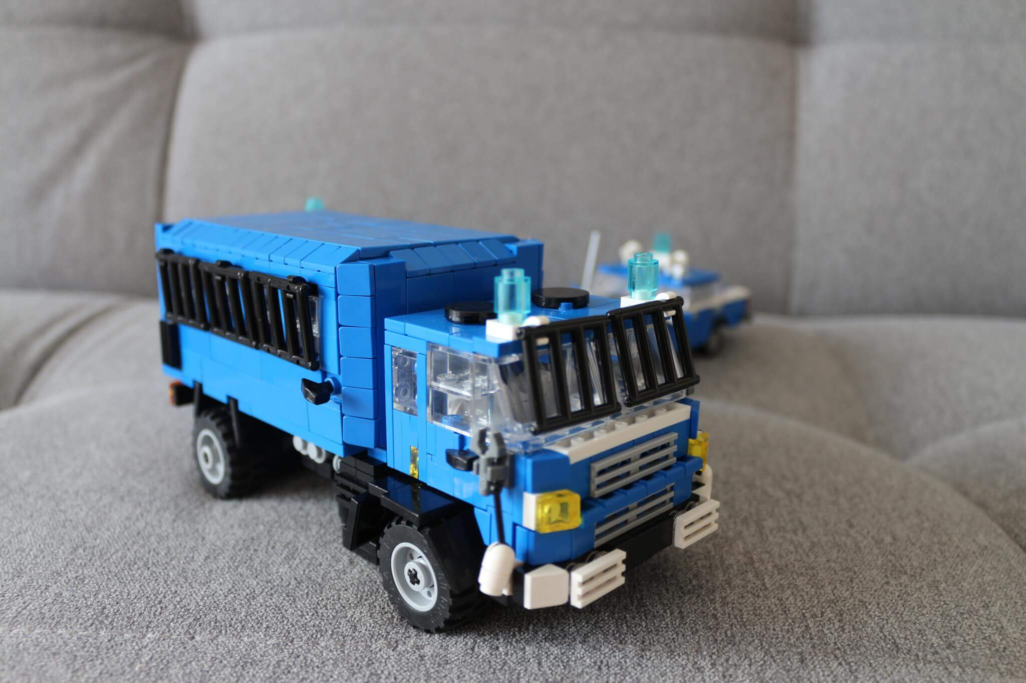 LEGO car models, Police (Militia) when Solidarnosc fight with Communism